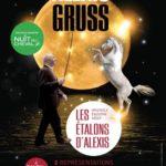 Affiche NUIT DU CHEVAL 40x60 francois
