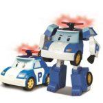 POLI robocar Poli véhicule transformable lumineux 13cm