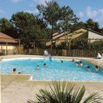 VVF - LES CHATEAUX - SOULAC SUR MER - GIRONDE La piscine . Soulac sur Mer - 33 - Gironde