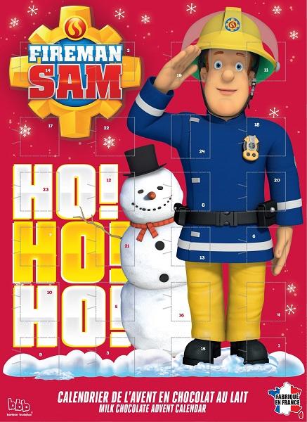 Calendrier de l 39 avent sam le pompier nos bambins - Sam le pompier noel ...