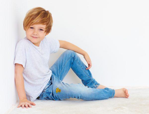 customiser un jean pour enfant