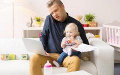 garde d'enfants ou baby-sitting