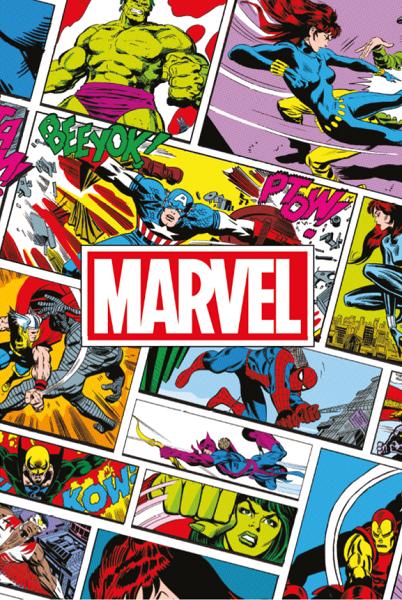 2018 L Année Super Héros Marvel Nos Bambins